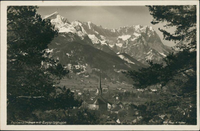 Garmisch-Garmisch-Partenkirchen Garmisch-Partenkirchen  Zugspitze  Alpen 1935