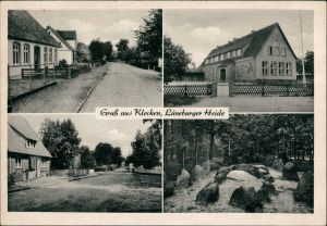 Klecken (b. Harburg)-Rosengarten (LK Harburg) 4 Bild: Stadt, Straßen 1940