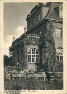 Ansichtskarte Oberschlema-Bad Schlema Erzgebirgischer Hof 1934