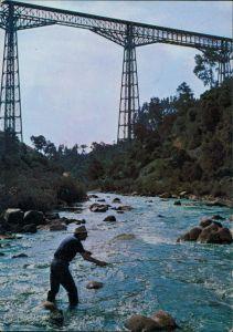 CHILE (Allgemein) Viaducto Malleco - Collipulli/Anlger   Hochbrücke,   1975