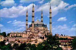 Edirne Odrin Andrinople Adrianople Ἁδριανούπολις SELİMİYE CAMİİ Selimiye Mosque Edirne 1980