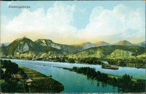 Königswinter Siebengebirge Rhein Blick Region Königswinter 1910