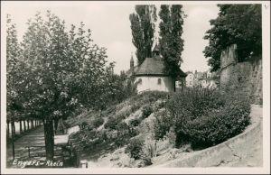 Foto Engers Rhein-Neuwied (Rhein) Weg und Kapelle 1923 Privatfoto