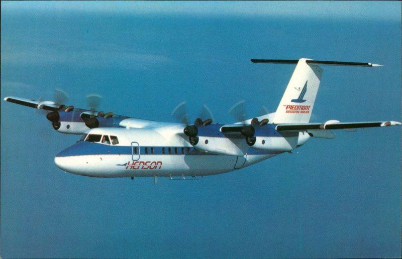 Propellerflugzeug HENSON AIRLINES  Dash 7 The Piedmont Regional Airline 1990 0