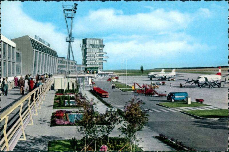 Ansichtskarte Wien Flughafen Schwechat 1965