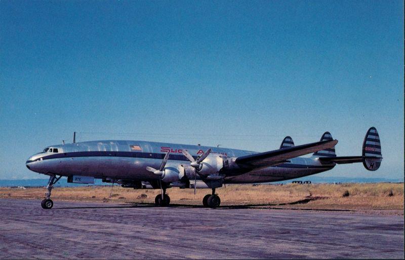 San Francisco Propellerflugzeug  Lockheed 1049H Constellation 1960/1990