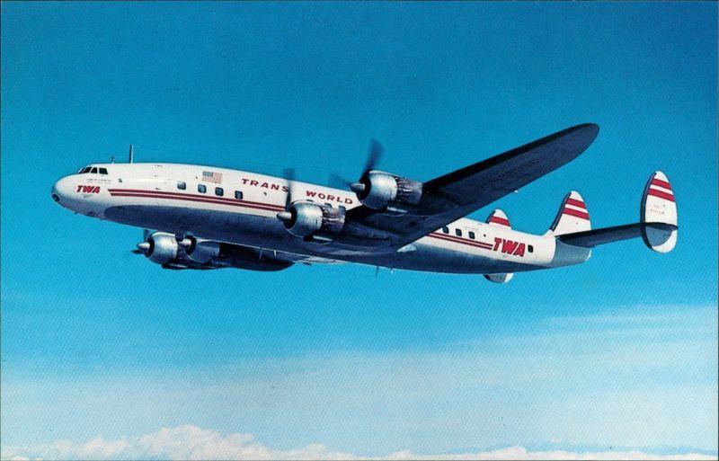 Propellerflugzeug   Lockheed 1049 Super Constellation 1960/1990