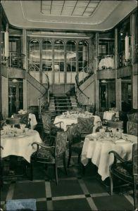 Hamburg-Amerika-Linie (Schiffahrt) MS Cordillera Speisesaal 1928