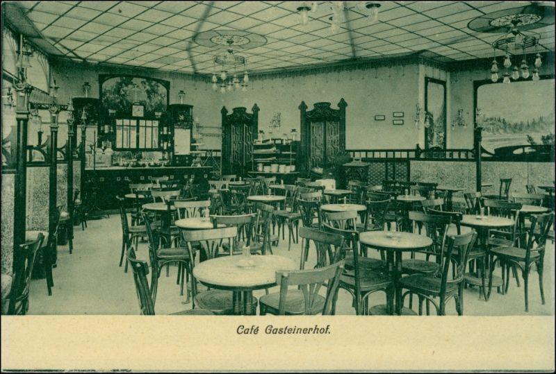 Ansichtskarte Bad Gastein Grand Hotel Gasteinerhof - Saal 1922