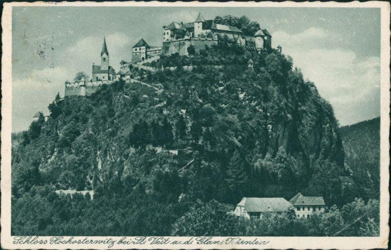 St. Georgen am Längsee Schloss Hochosterwitz bei St. Veit ad. Glan 1935