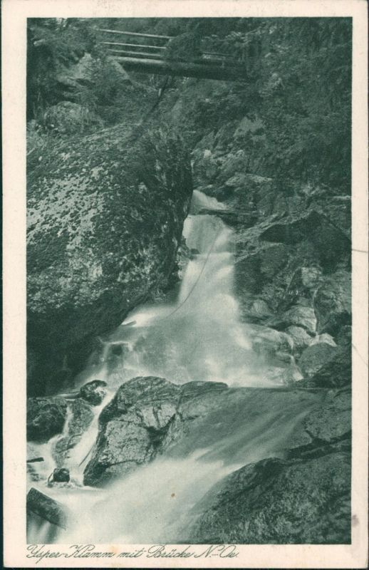 Yspertal Yspertal Ysperklamm Wasserfall Waterfall River Falls 1923