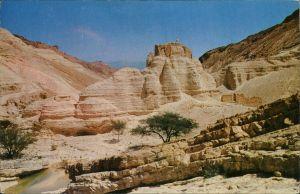 allgemein ZOHAR CITADEL - CASA EL SUERA/Felsen Landschaft in Israel 1962