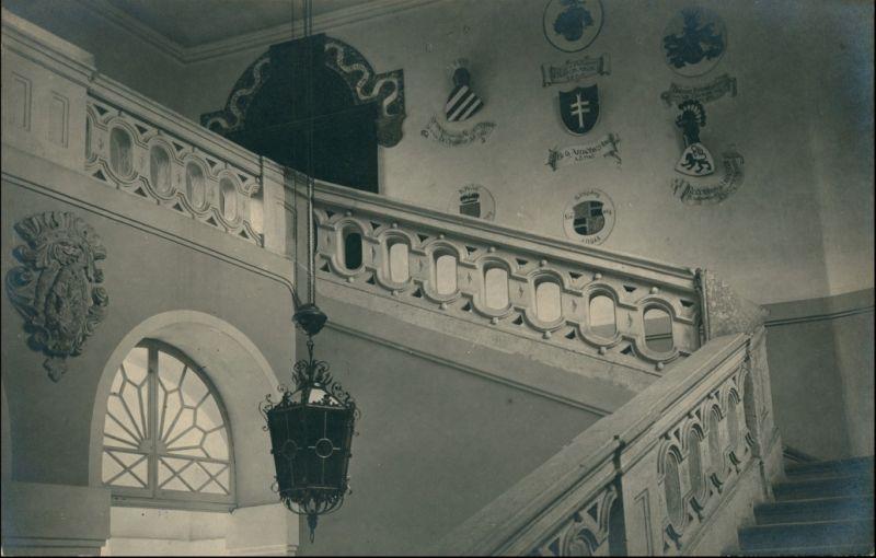 Ansichtskarte Gröbming Burg Bernstein - Treppenhaus 1926