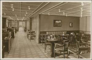 Hamburg-Amerika-Linie (Schiffahrt) MS Nonte Olivia Lesezimmer 1925