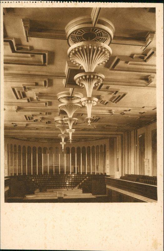 Ansichtskarte Mülheim an der Ruhr Stadthalle - Festsaal 1928