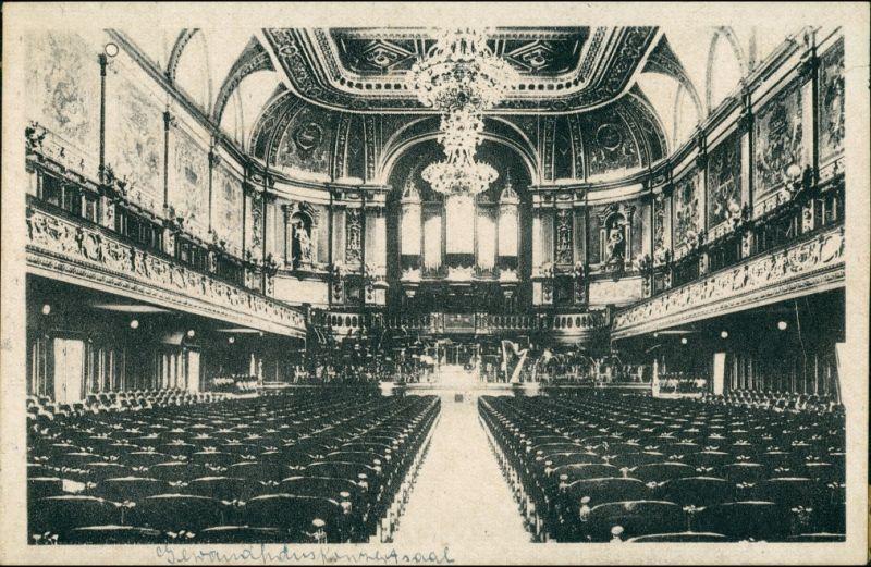 Ansichtskarte Leipzig Gewandhaus - Konzertsaal 1939
