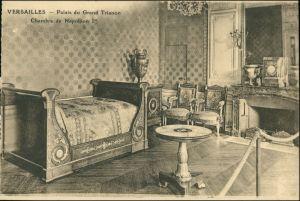 CPA Versailles Schloss Versailles Chambre Napoleon 1908
