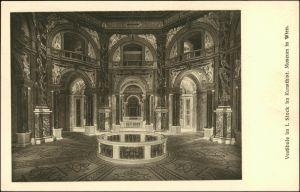 Ansichtskarte Wien Kunsthistorisches Museum - Vestibule 1915