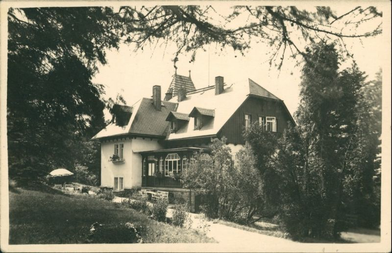 Bärenfels (Erzgebirge)-Altenberg (Erzgebirge) Pension Friedenshöhe 1934
