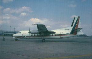PropellerFlugzeug F 27 Friendship - Fokkers Turboprop (F-BIUK) 1985