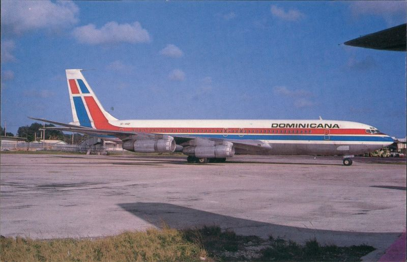 Miami Flugzeug Boeing B.707-399C HI-442 c/n 19767 of DOMINICANA 1984