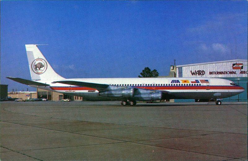 Flugzeug Boeing 8.707-399C N106BV 19415 BUFFALO AIRWAYS Ft.Worth-Meachan Field