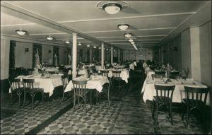 Ansichtskarte  Hamburg-Amerika-Linie (Schiffahrt) MS Milwaukee Speisesaal 1928