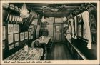 Ansichtskarte Nürnberg Bratwurstglöcklein Lokal mit Stammtisch 1932