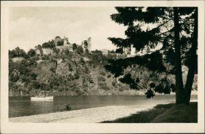 Frain an der Thaya Vranov nad Dyjí Vranovská přehrada, Talsperre Frain 1951