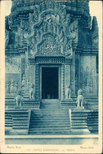 Angkor Religion/Kirche - Tempel Temple Angkor-Vat Kambodscha 1920