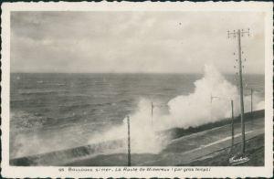 Boulogne-sur-Mer La Route de Wimereux, Sturm Sturmflut Wellen 1940