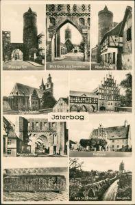 Ansichtskarte Jüterbog MB: Tore, Straßen etc. 1938