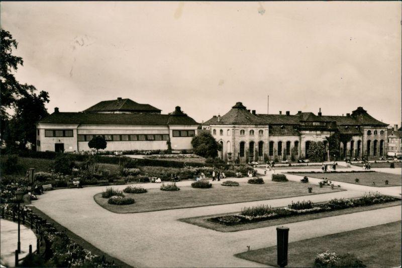 Gotha Orangerie-Schloss Heinrich Heine Bibliothek Postkarte DDR 1962 0