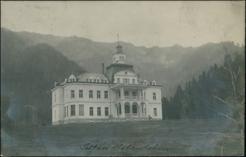 Garnberg-Hollenstein an der Ybbs Schloss Hohenlehen 1915 Privatfoto