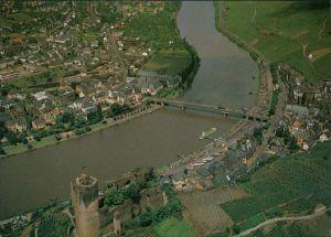 Ansichtskarte Bernkastel-Kues Berncastel-Cues Luftbild 1978