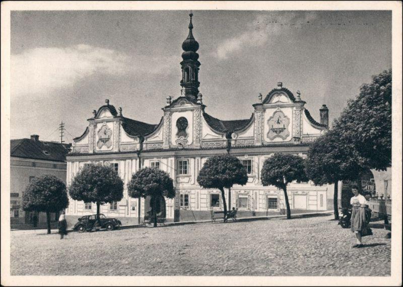 Bergreichenstein (Klattau) Kašperské Hory (Klatovy) Marktplatz 1932