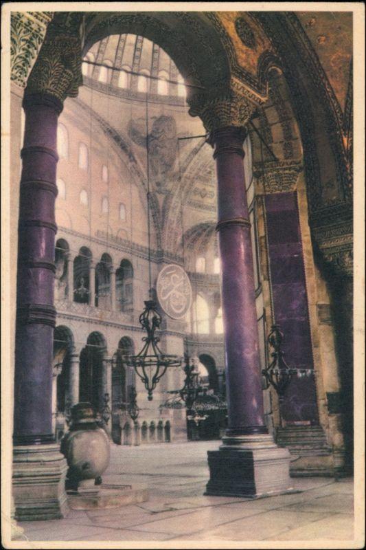 Istanbul Konstantinopel | Constantinople Hagia Sophia - Innen 1962