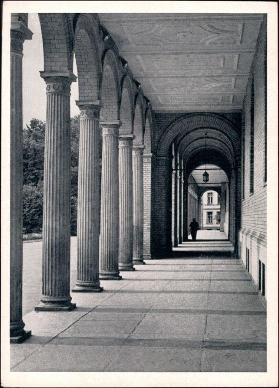 Königsberg (Ostpreußen) Калининград Universität - Gang Ostpreußenkalender 1959