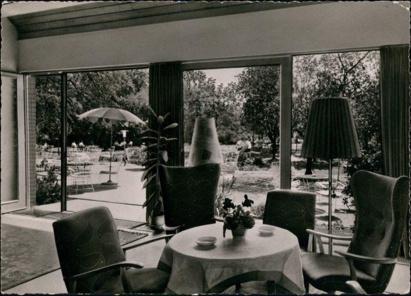 Ansichtskarte Ratingen Georgendorf Hösel - Restaurant - Innen 1959