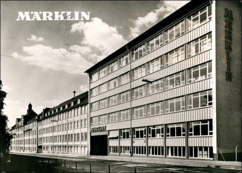 Ansichtskarte Göppingen Märklin - Werk 1978
