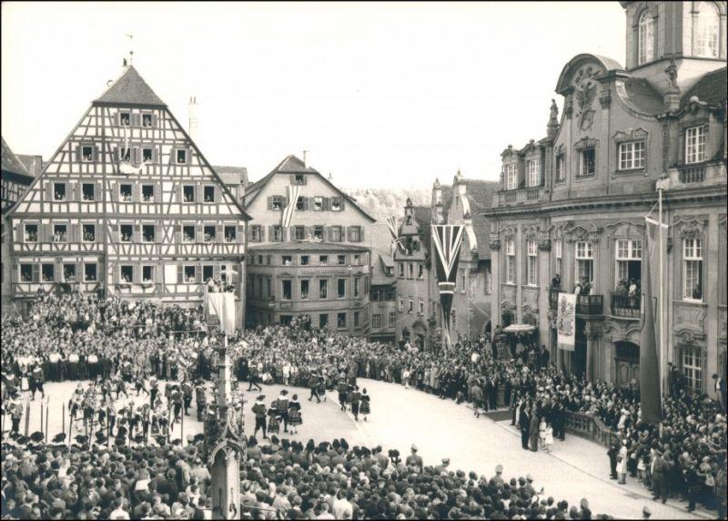 Schwäbisch Hall Besuch der Königin Elisabeth 25. Mai 1965 Privatfoto