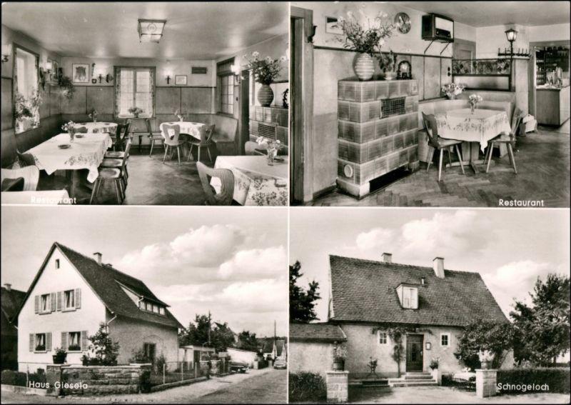 Freiburg im Breisgau West: Gasthaus z. Schnogeloch im Wolfswinkel 1963