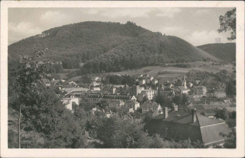 Trentschin-Teplitz Trenčianske Teplice Trencsénteplic Echtfoto-AK 1950