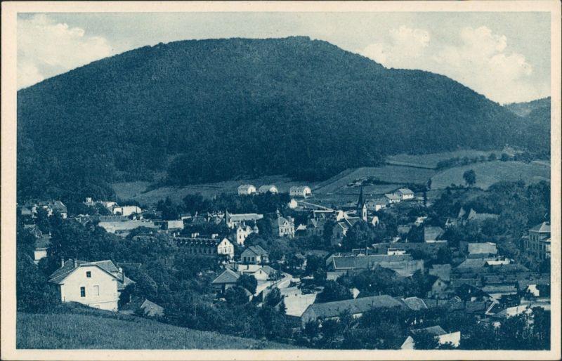 Postcard Teplitz-Schönau Teplice Panorama Aussicht v. V. Viola 1920