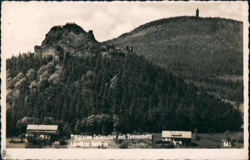 Tollenstein-Sankt Georgenthal Rozhled Jiřetín pod Jedlovou   1940 Privatfoto
