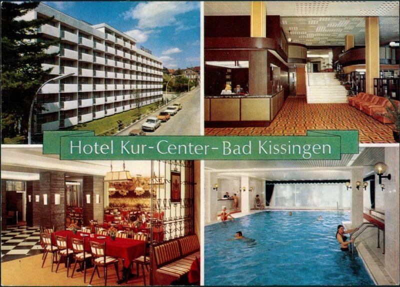 Ansichtskarte Bad Kissingen Hotel Kur-Center MB 1978