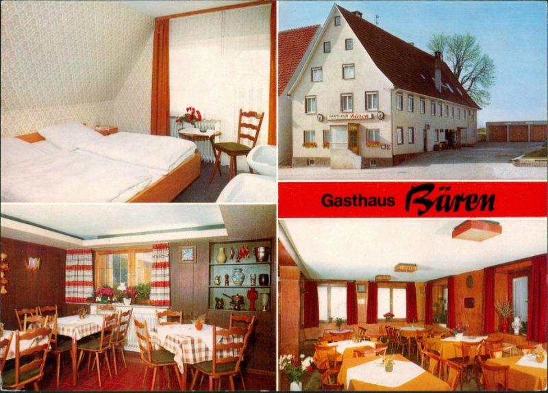 Ansichtskarte Trossingen Gasthaus zum Bären, Innen 1974