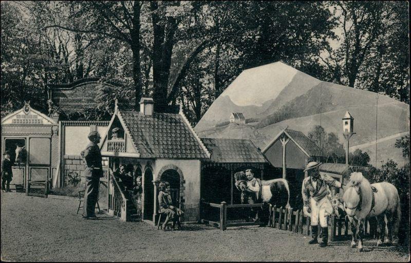 Ansichtskarte Berlin Schaefers Märchenstadt Lilliput - Anlage 1912