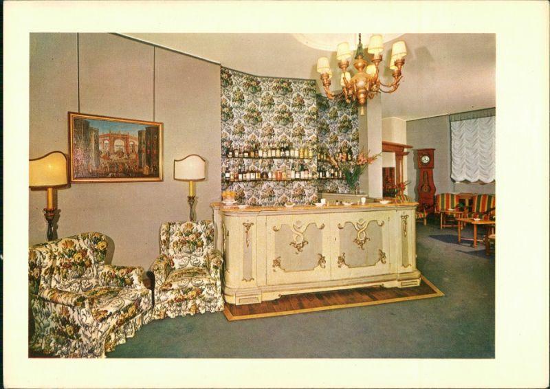 Cartoline Rom Roma GRAND HOTEL CONTINENTAL - Innen 1950