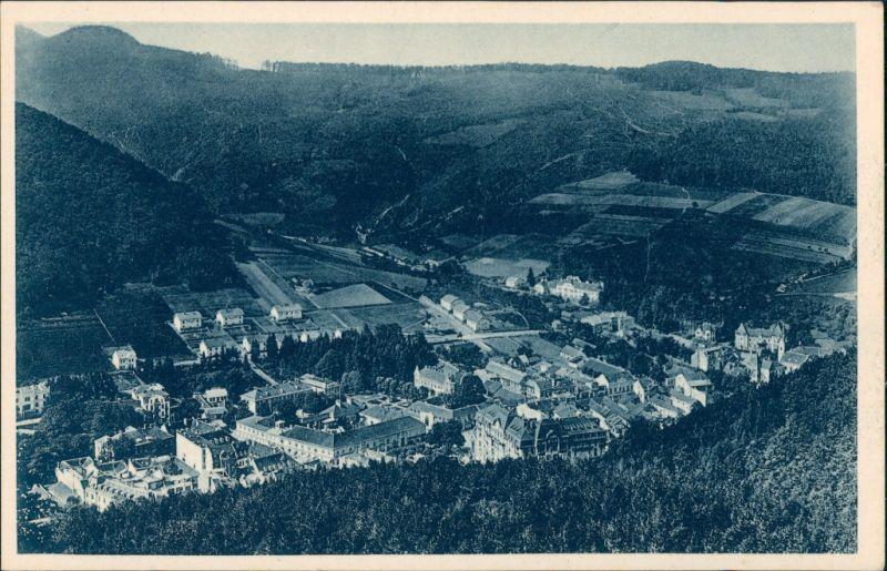 Trentschin-Teplitz Trenčianske Teplice Trencsénteplic Pohlad od jeleňa 1930